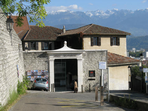 Musee Dauphinois in Grenoble France