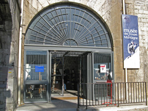 Musee des Troupes de Montangue in Grenoble France